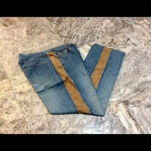 INC Side Strip Jeans 14W